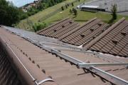 Konstrukce FVE na střechu